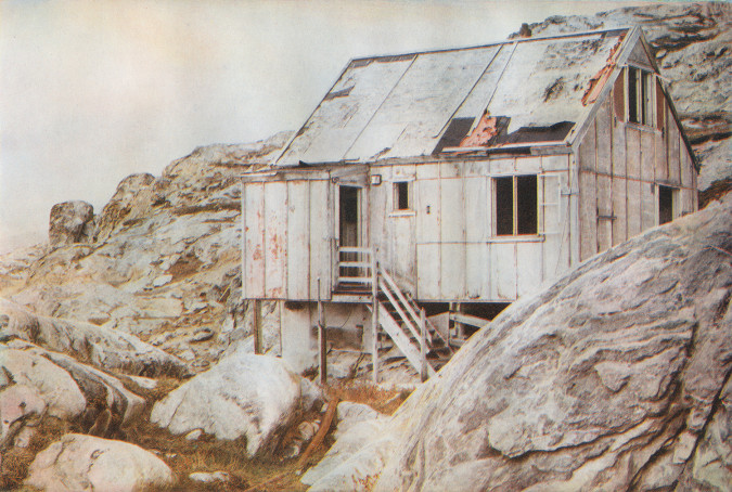 layers of Landscape, Tiniteqilaaq. Multi color photogravure, Rives BFK/ 250