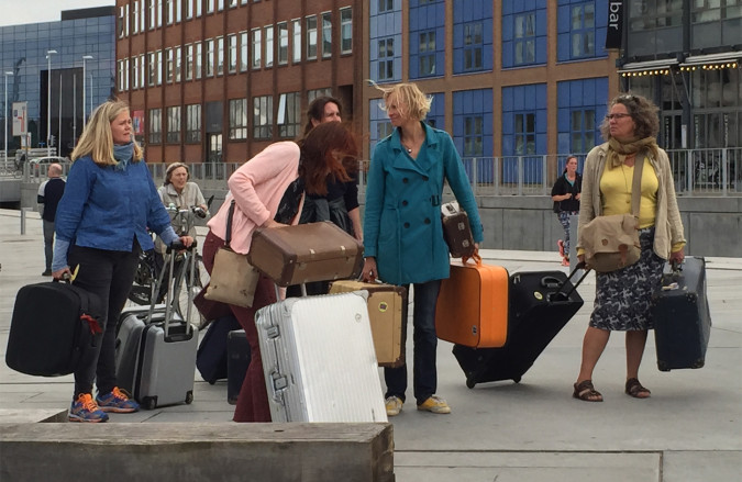 Temporary Stays and Moves. Aarhus