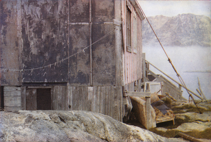 Layers of Landscape, Sermiligaaq. Multi color photogravure, Rives BFK/ 250